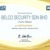 myWD Gold Partner Cert